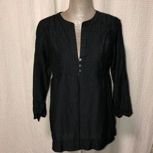 NWT Joie black blouse, size small